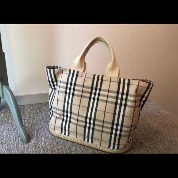 Burberry Handbags - Authentic Burberry Nova Check Tote Shoulder Bag